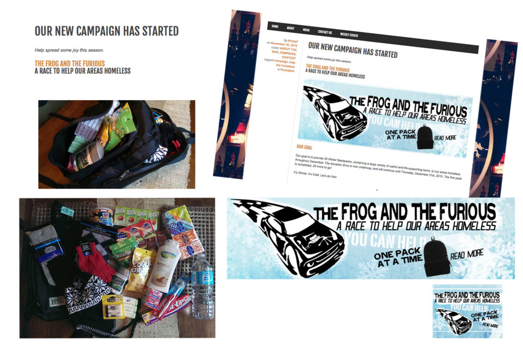 Frog and Furious Campaign
