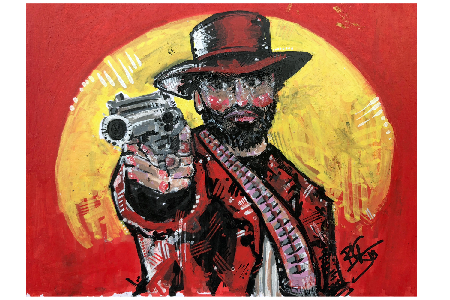 Red Dead 2 Artwork