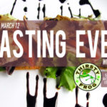 TASTING EVENT Postcard Design