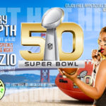 Superbowl Postcards Design